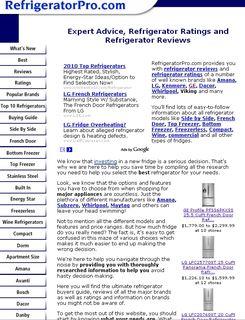 Refridgerator Pro